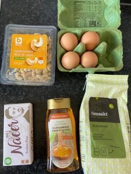 ingrediënten Kokosbrownies